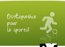 osteopathie pour sportif
